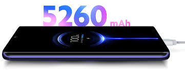 یکی دیگر از نقاط قوت گوشی شیائومی نوت 10 باتری 5260 میلی آمپری ، لیتیوم پلیمری با قابلیت شارژ 30 واتی است.