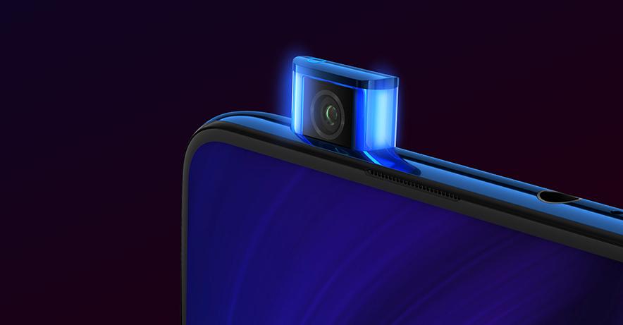 گوشی شیائومی mi 9t دارای دوربین سلفی پاپ آپ در بالای گوشی