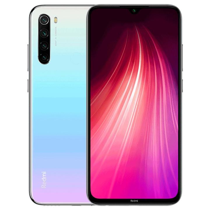 گوشی شیائومی  ردمی نوت 8 یکی از ارزان ترین گوشی های شیائومی که مجهز به صفحه نمایش 6.3 اینچی از نوعLCD ips لمسی خازنی با رزولوشن 1080×2400 پیکسل و دوربین چهار گانه