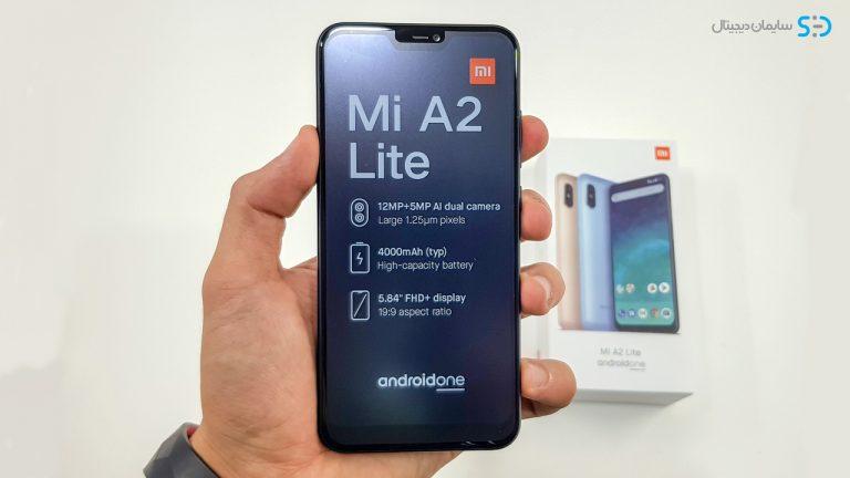 xiaomi Mi A2 Lite دارای صفحه نمایش 5.84 اینچی از جنس ips LCD لمسی خازنی با وضوح تصویر 2280×1080 و تراکم پیکسلی آن درهراینچ 432