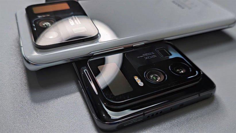 ماژول دوربین شیائومی می ۱۱ پرو با یک نمایشگر کوچک همراه است