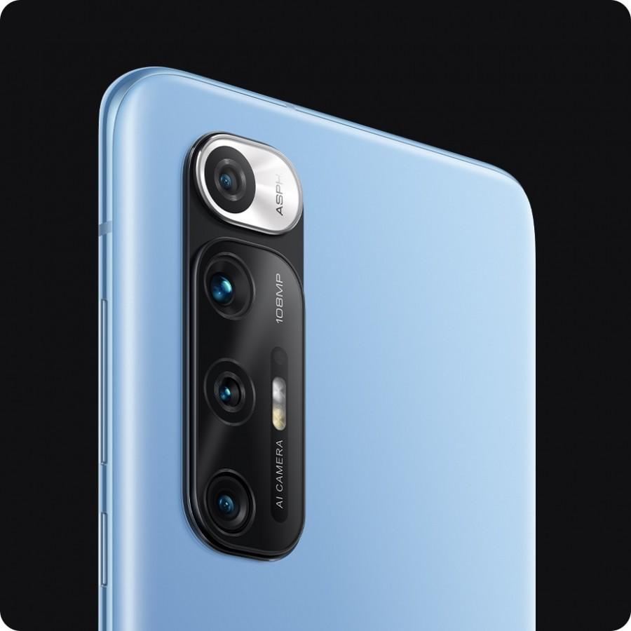 گوشی شیائومی می 10 اس با باتری 4780  میلی آمپری و قابلیت شارژ سریع 33 واتی است/xiaomi mi 10s