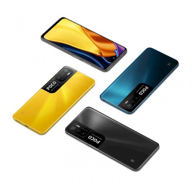 طراحی و ظاهر جدید گوشی poco m3 pro / گوشی موبایل شیائومی پوکو ام ۳ پرو