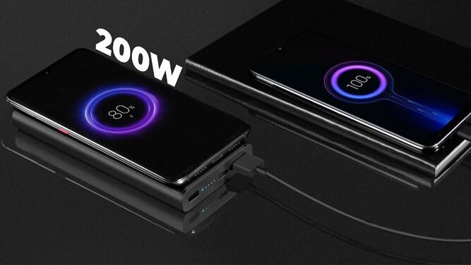 گوشی شیائومی با شارژر سریع 200 وات - شارژ کامل در 8 دقیقه