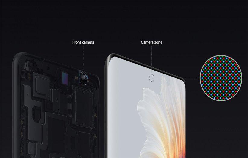می میکس ۴ برای لذت نمایشگر تمام صفحه است، دوربین سلفی زیر نمایشگر